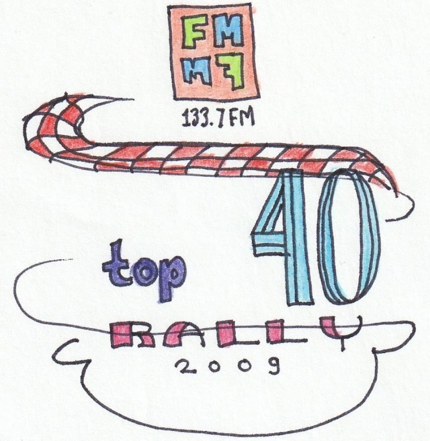 Top40 Rally logo