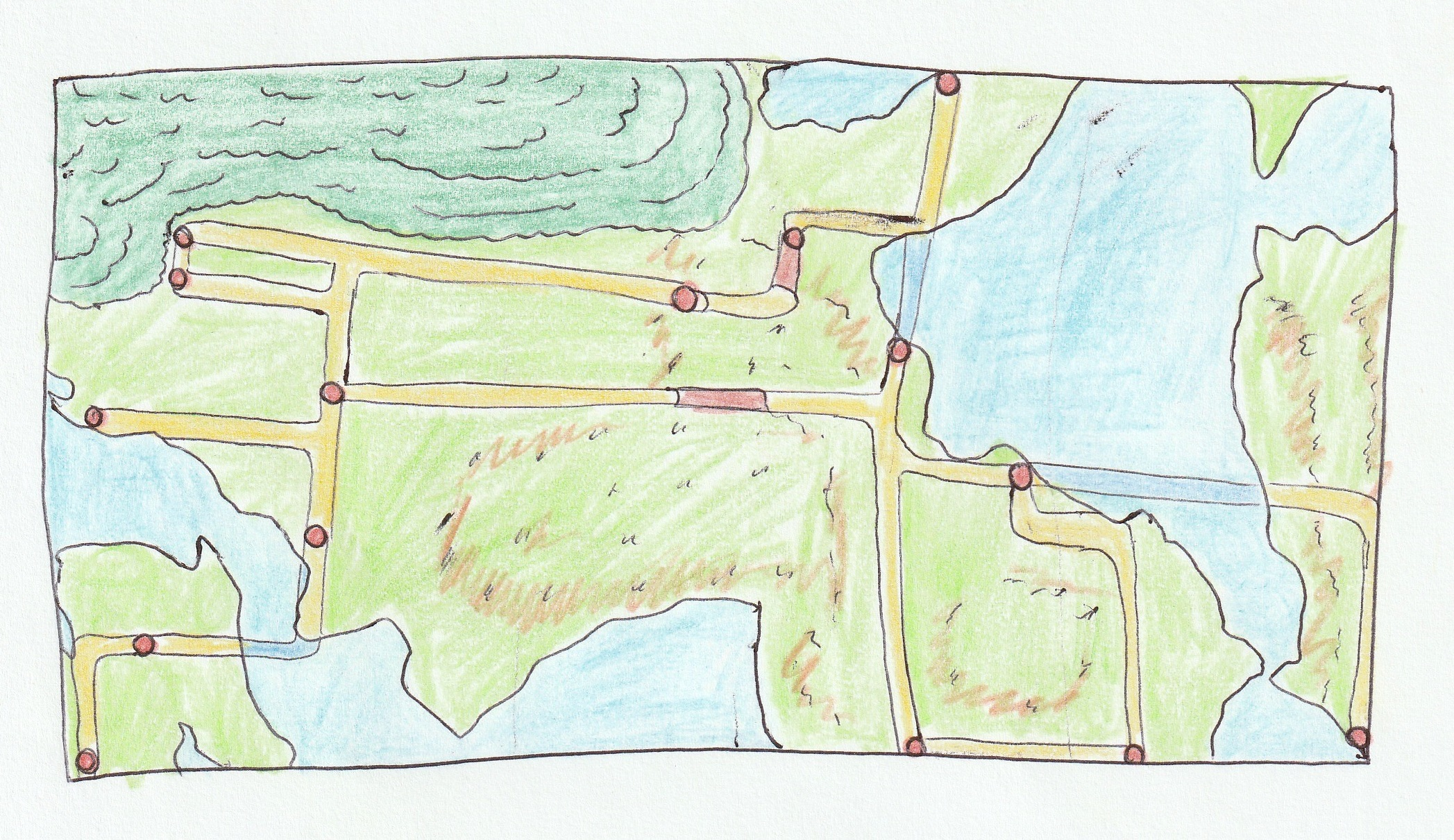 F1/Pokémon crossover game map design