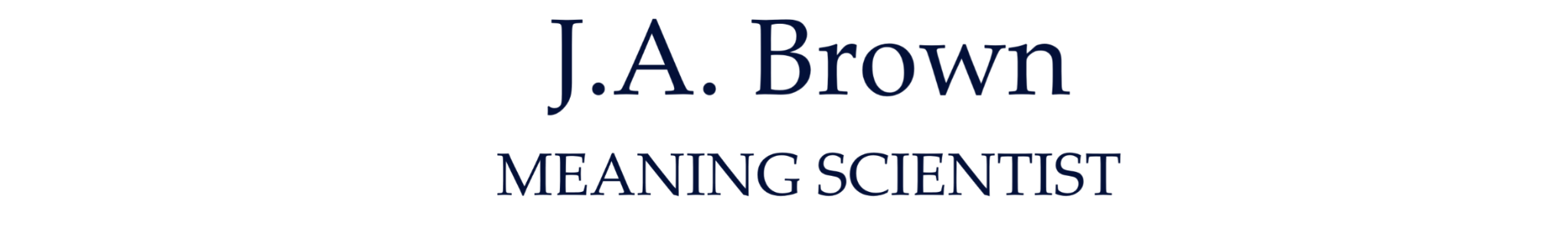The J.A.Brown logo.